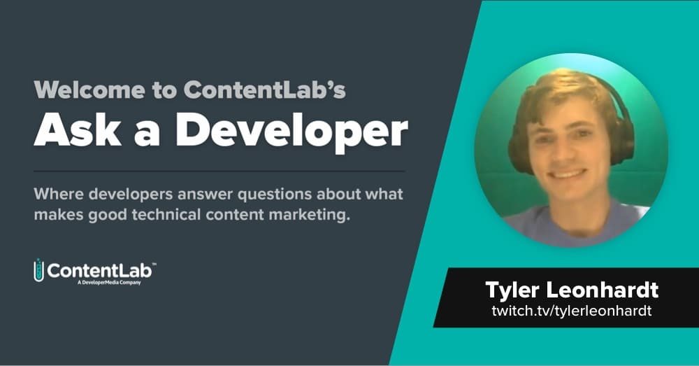 Ask a Developer: Tyler Leonhardt Wants To Know How To Integrate Your Product